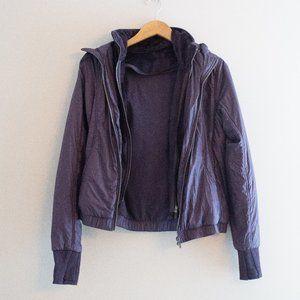 Purple Eggplant Lululemon Jacket w Removable Vest